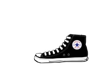 Converse clipart blue object Mercy  art converse art