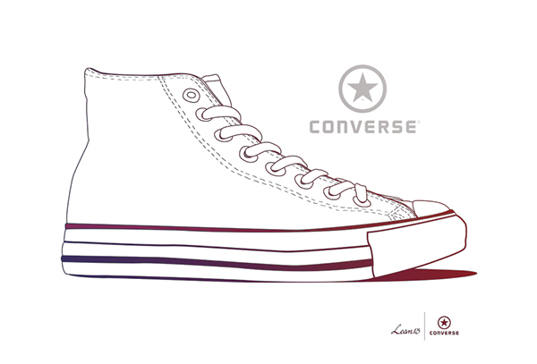Shoe clipart converse all star Tumblr com Lean13 x com/people/lean13/