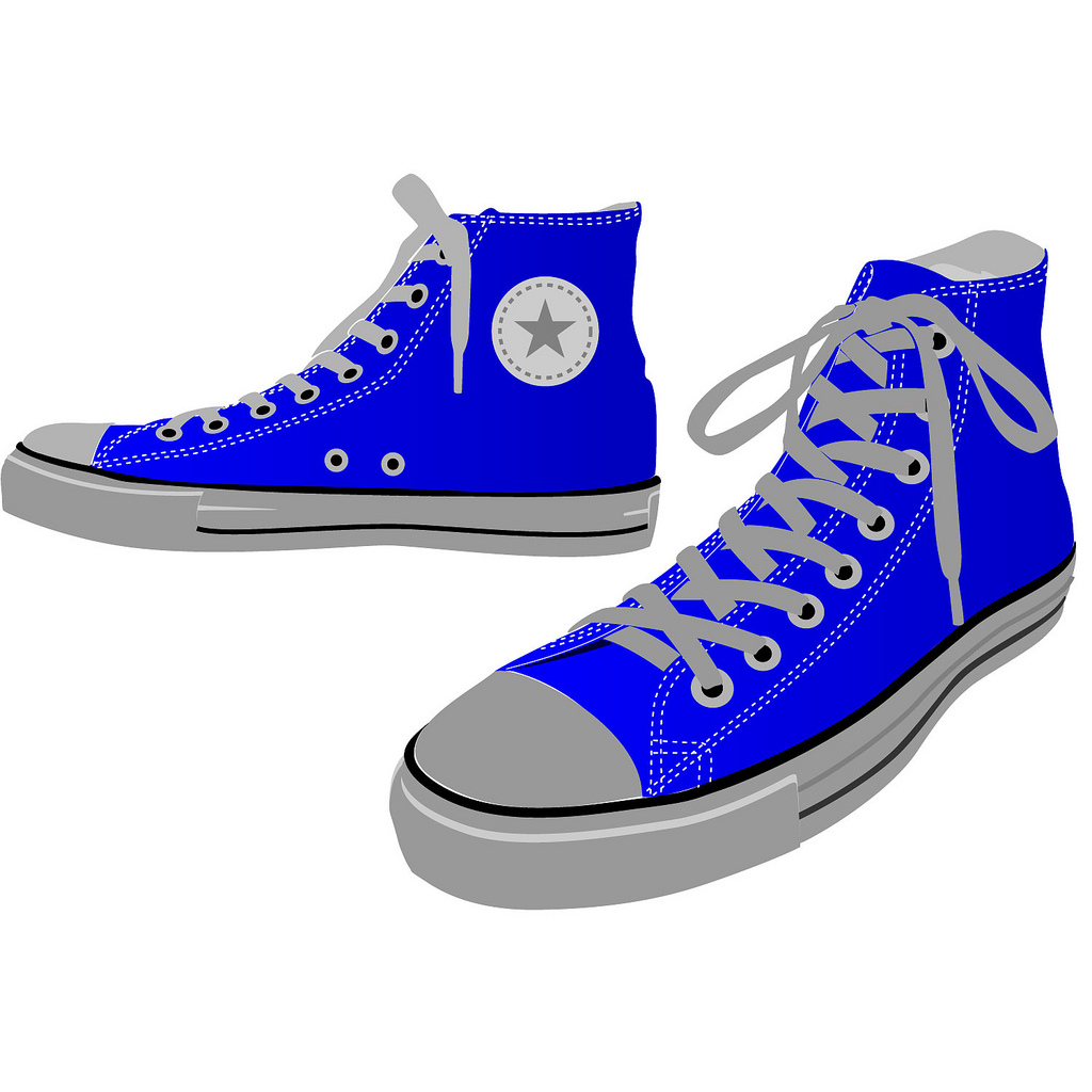 Shoe clipart converse all star Clipart Of Of 44740 Converse