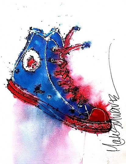 Converse clipart blue object Pinterest Shoe on art best
