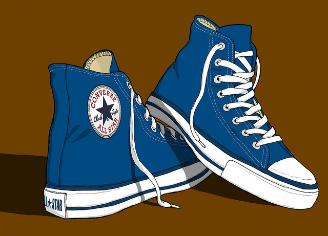 Converse clipart blue object Masson 63 Converse Erlen All