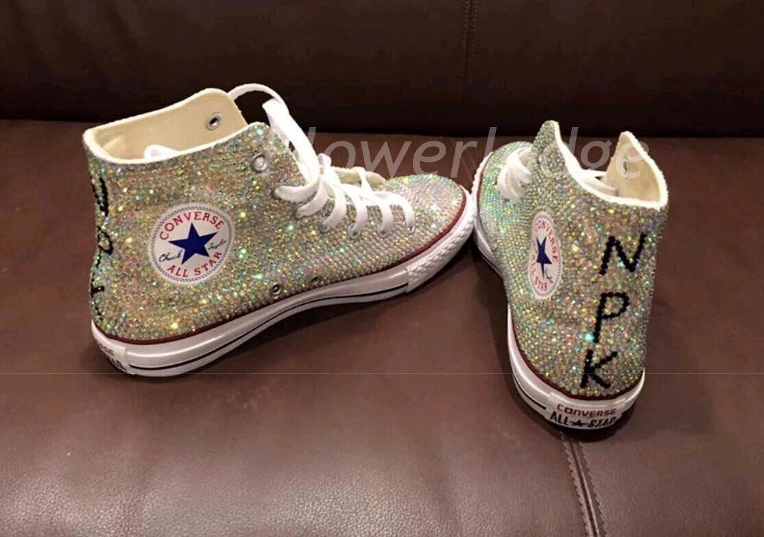 Converse clipart brown Sneaker converse Crystal girls top