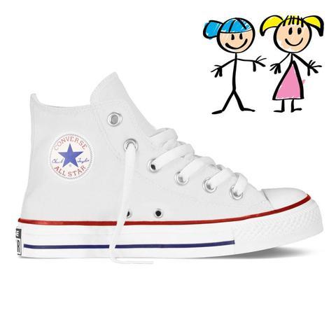 Converse clipart kid shoe Kid's White Chuck – Converse