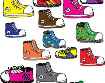 Converse clipart kid shoe Clip Art Sneaker Sneaker Download