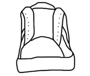 Converse clipart outline Art at Clip Shoe clip
