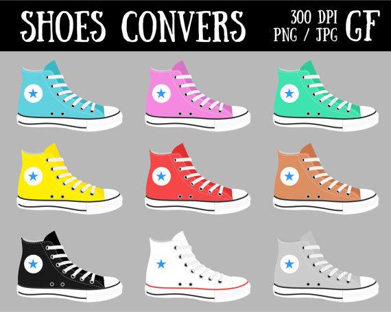 Converse clipart pastel Clip Clipart Shoes Converse Art