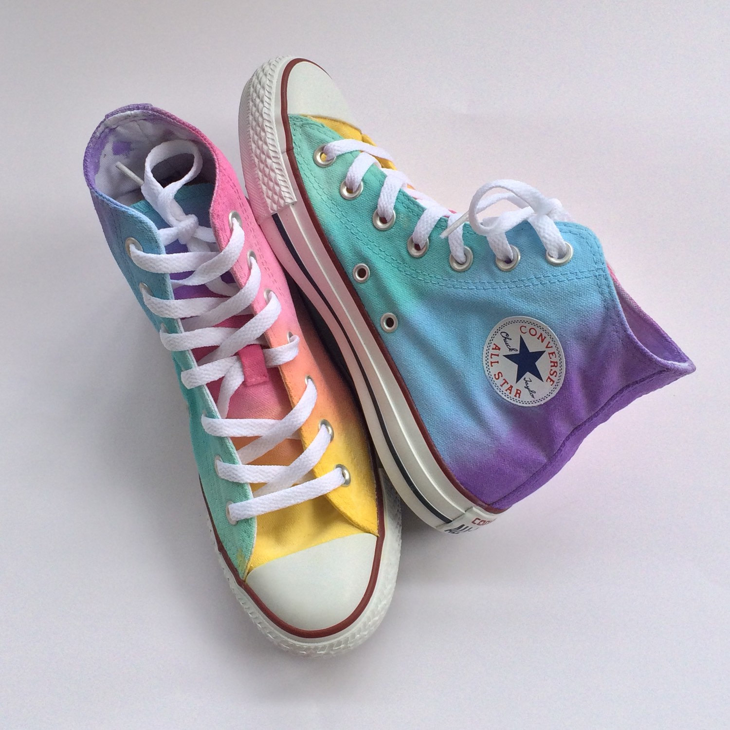 Converse clipart pastel High Rainbow Tie Like Top