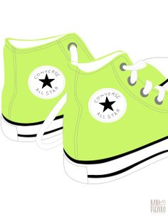 Converse clipart pastel #sneakers #fashionillustration #girl #fashiondesign fashiondesign