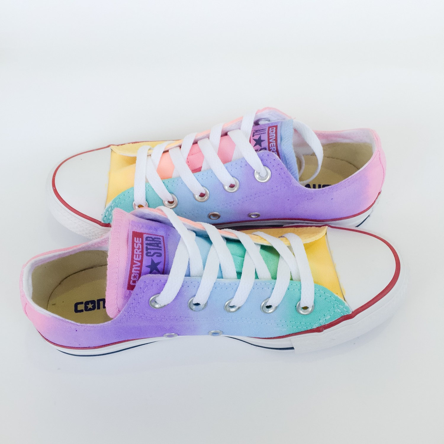 Converse clipart pastel Low Rainbow Tie Like Top