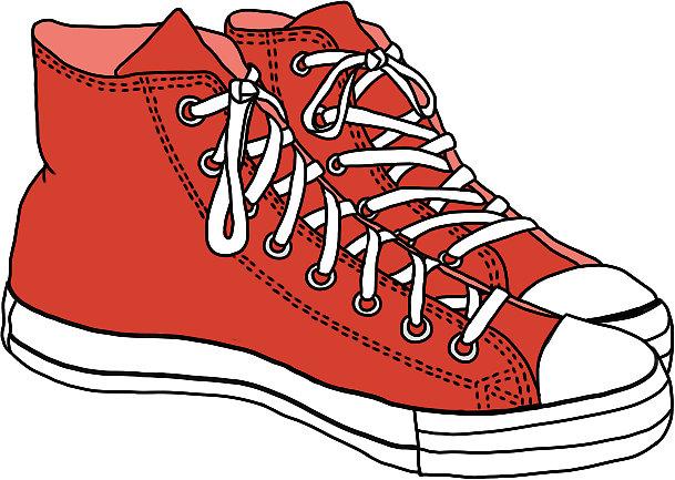 Converse clipart red converse Converse red W sticker