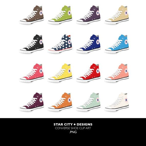 Converse clipart red converse Converse shoes clip art converse