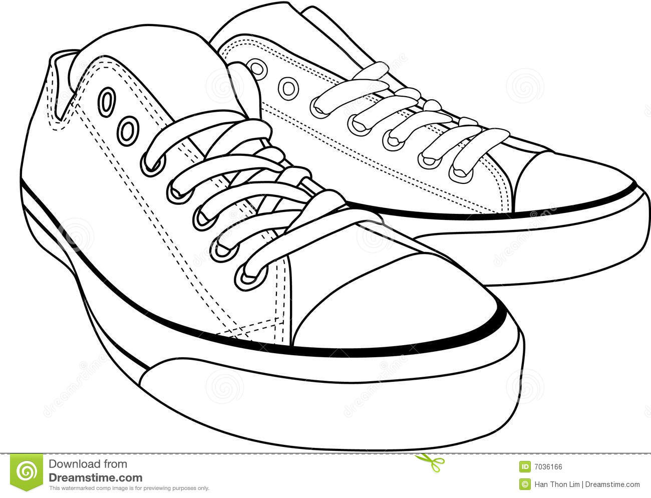 Converse clipart school shoe Clipart collection Canvas Tennis shoes
