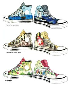 Converse clipart school shoe Pair OWN Illustrate a dawntroversial