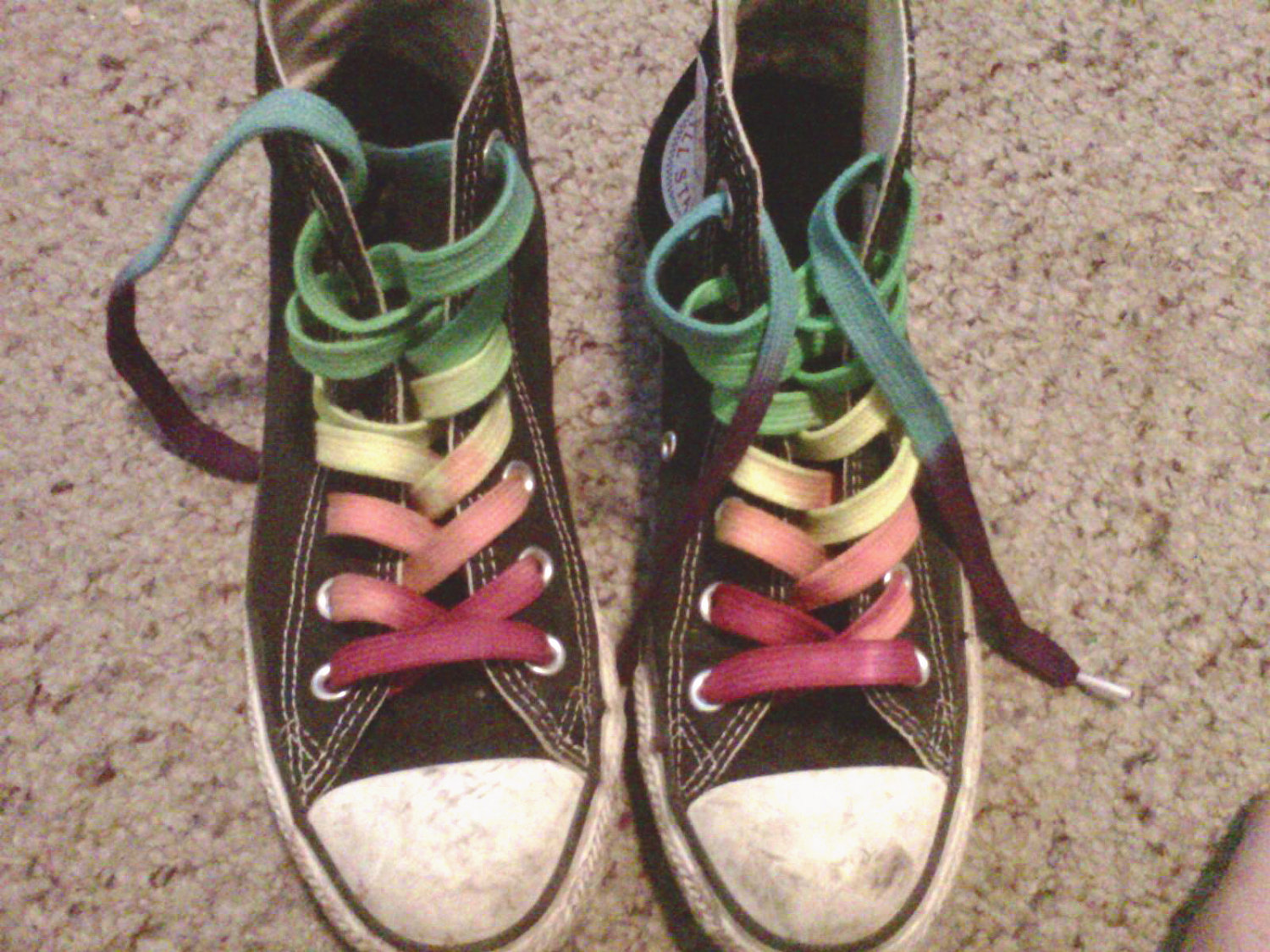 Converse clipart shoelace Shoe Dyed Hand Laces CUSTOM