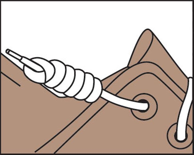 Converse clipart shoelace Tips: the Just on Knot