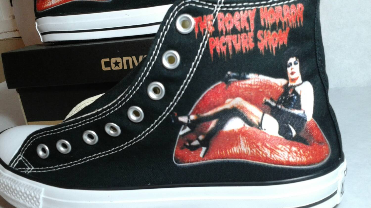 Converse clipart show Etsy Picture Converse horror Horror