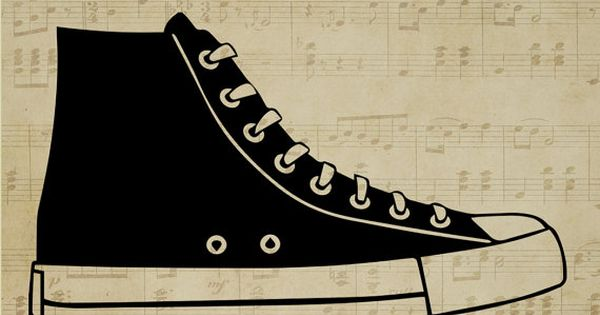 Converse clipart silhouette SVG Silhouettes ai eps png