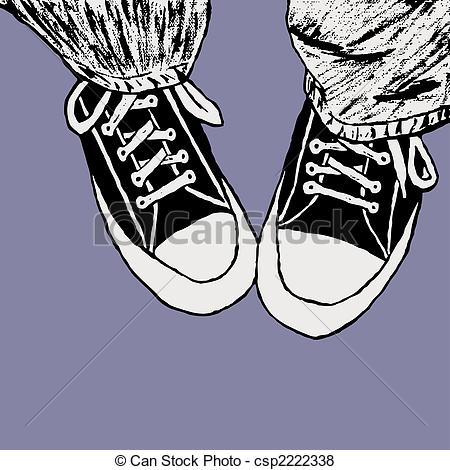 Drawn converse clip art Converse Stock Converse Illustration csp2222338