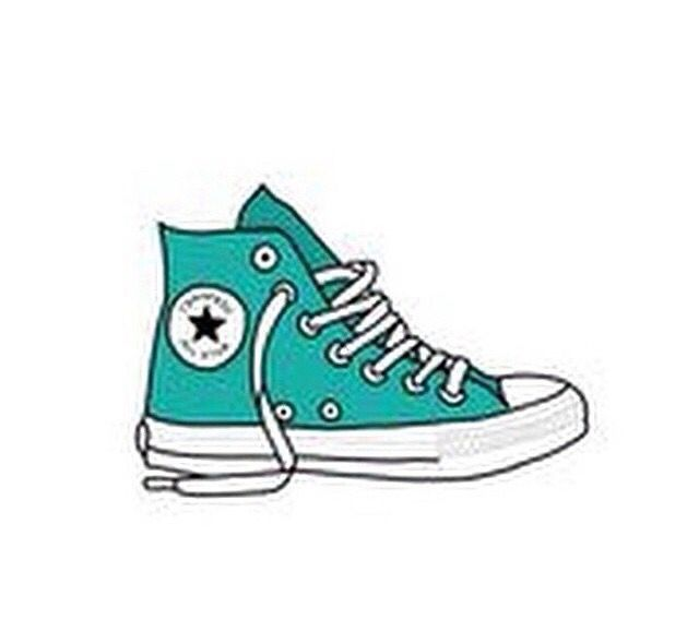 Shoe clipart converse all star Shoes 237 illustrations Pinterest best