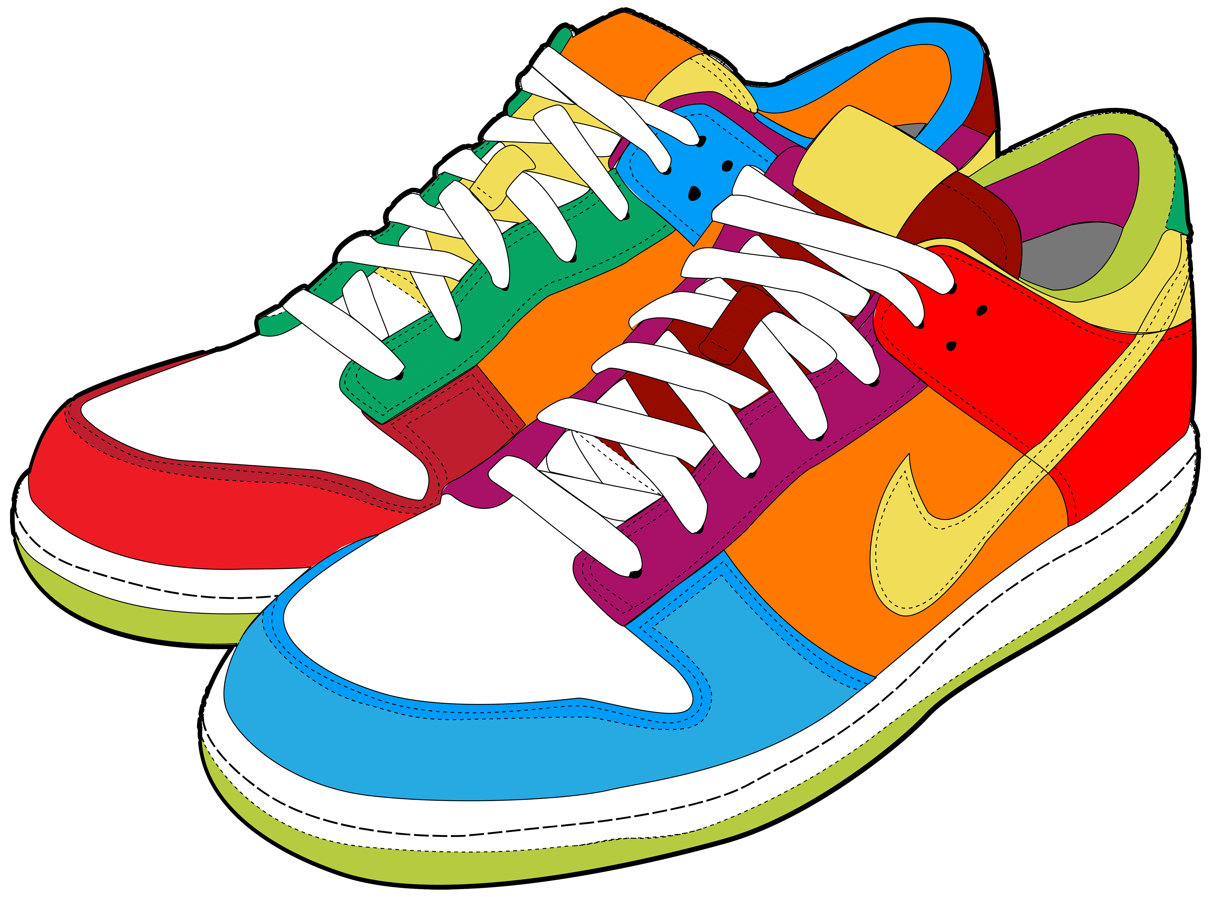 Shoe clipart footwear #7