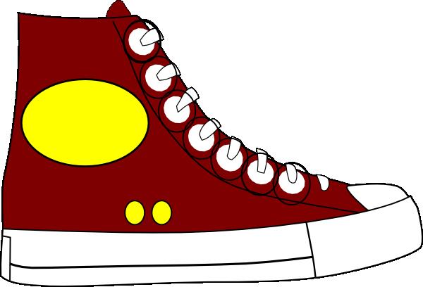 Converse clipart yellow Art Clip clip vector Lace