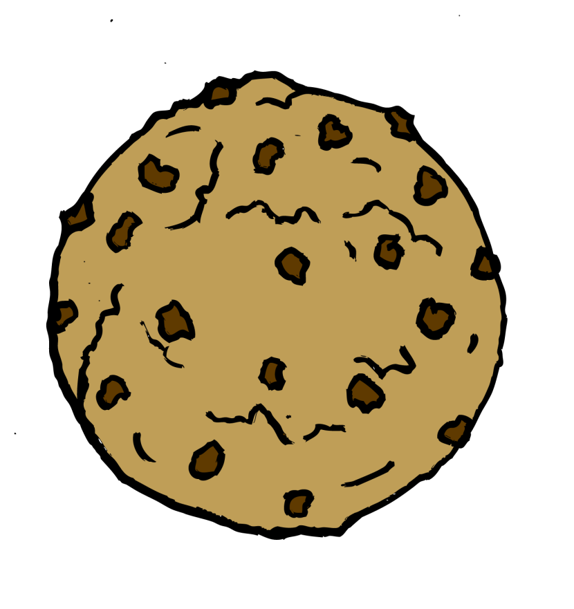 Brownie clipart plate Com chipokie Cookie clipart Cookie