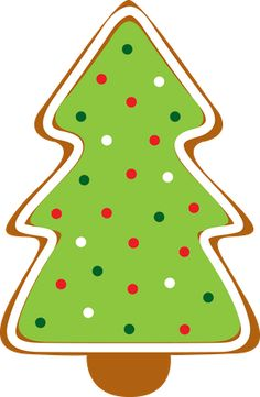 Gingerbread clipart christmas tree Clipart Platter Cookie Collection Clipart