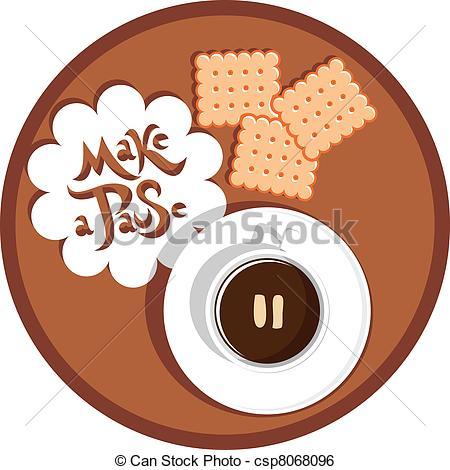 Coffee clipart coffee break Cup break coffee coffee of