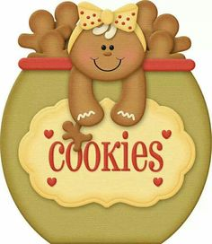 Gingerbread clipart christmas couple  cookies Gingerbread eating printables
