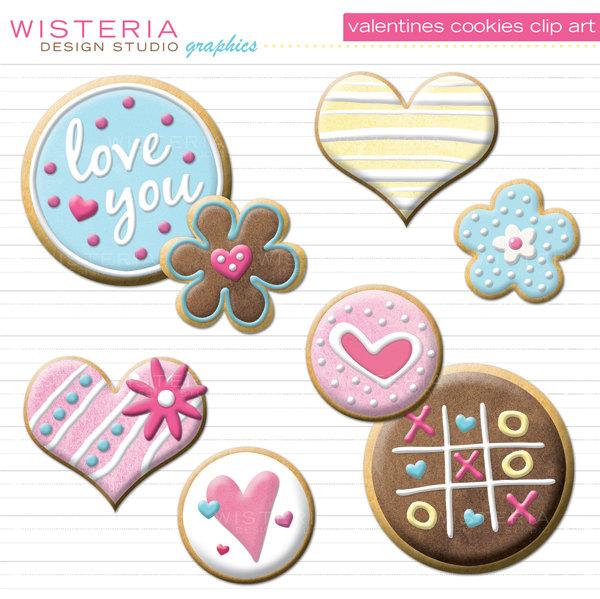 Card clipart valentine cookie Valentine cookie Heart (34+) Clipart