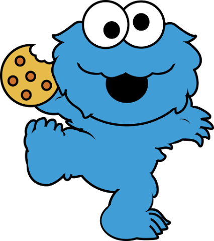 Cookie Monster clipart transparent 1 Cookie Art art Clip