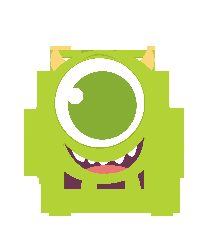 Monster clipart happy #8