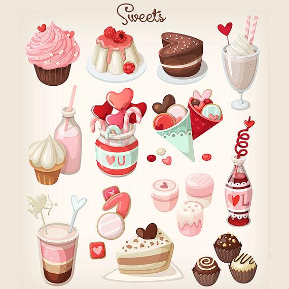 Milkshake clipart dessert #1