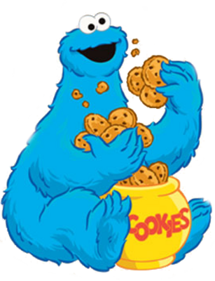 Sesame Street clipart cookie monster Clipart Others Inspiration Cookie Cookie