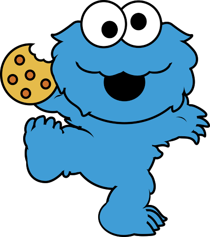 Cookie Monster clipart dessert Cookie Clipartion Clipart com Monster