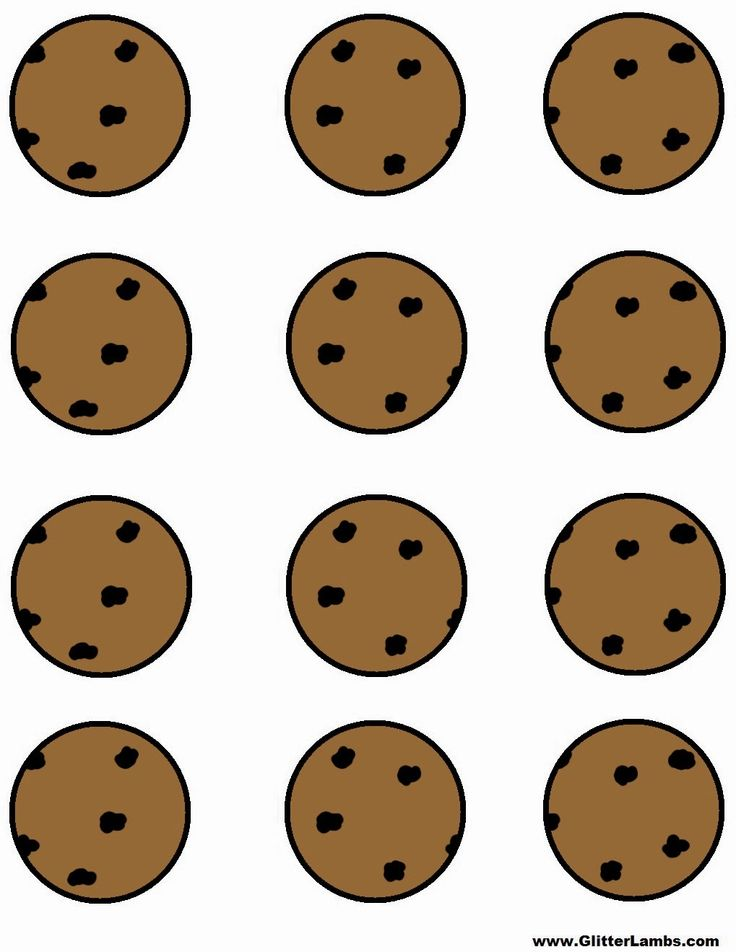 Cookie Monster clipart chocolate biscuit On Label Cookie some free
