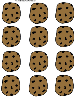 Cookie Monster clipart chocolate biscuit Template Chocolate  Free Template