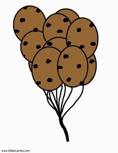 Cookie Monster clipart chocolate chip cookie milk Cookie Milk Label Food monster