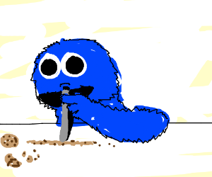 Cookie Monster clipart coke Inhaling cookies  cookies Cookie