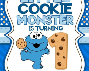 Cookie Monster clipart cooke Invitation Monster Invitations file Cookie