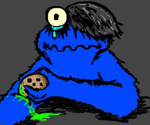Cookie Monster clipart emo Cookie monster cookie cookie cuts