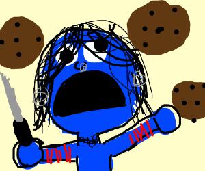 Cookie Monster clipart emo Monster emo cookie cookie monster
