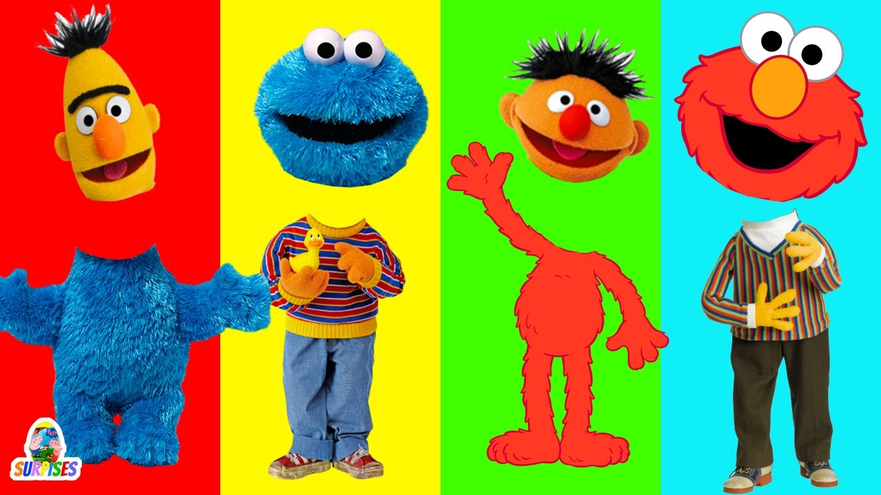 Cookie Monster clipart ernie By Finger BART Heads