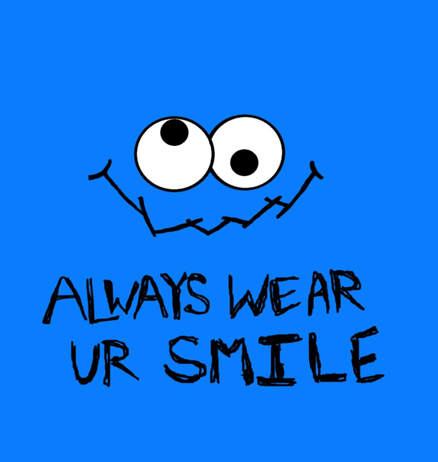 Cookie Monster clipart happy Monster and Vector Clipart 5311