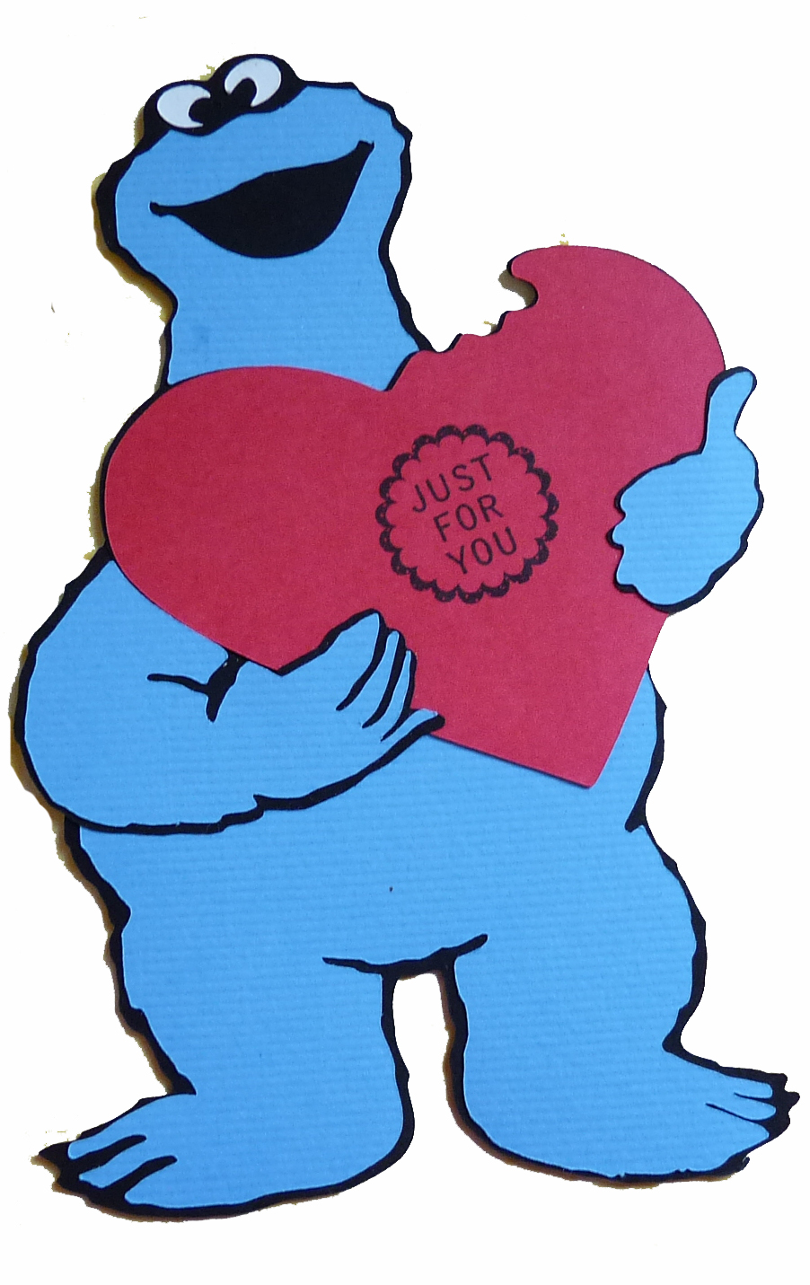 Cookie Monster clipart thank you The cute out made Craft