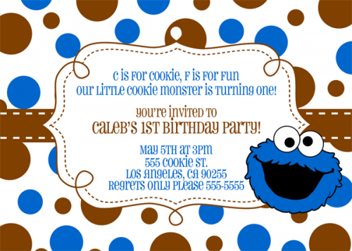 Cookie Monster clipart thank you Monster monster whoever singing Template