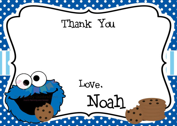 Cookie Monster clipart coloring page Inspired Digital Cookie Design) File