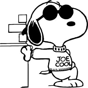 Cool clipart Cool Snoopy Snoopy Joe Cool