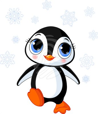 Winter clipart panda Penguin Cool  Clipart