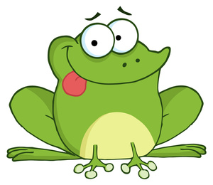 Toad clipart green frog #13